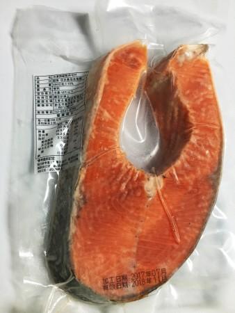 挪威厚切鮭魚排 370g