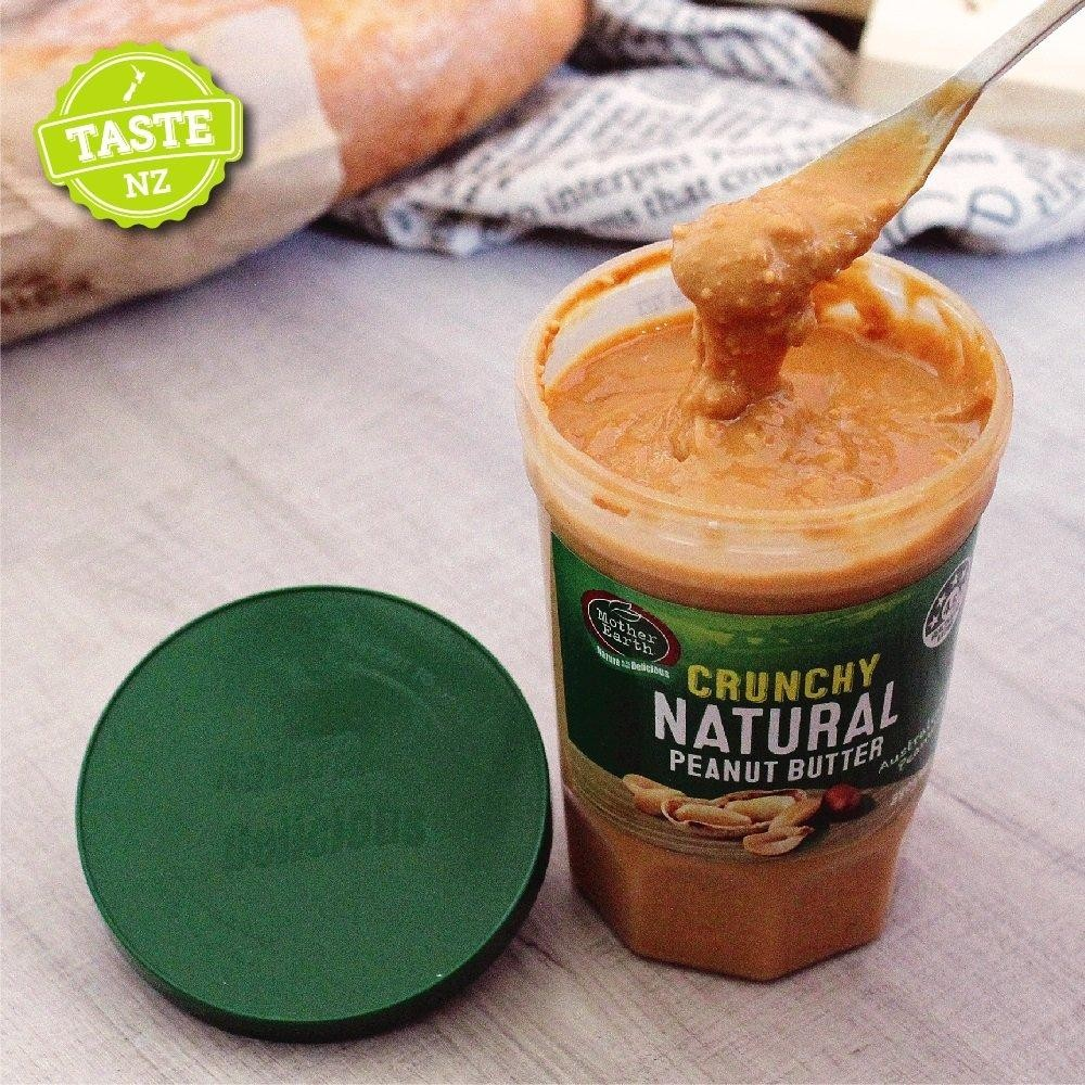 紐西蘭Mother Earth超級顆粒花生醬