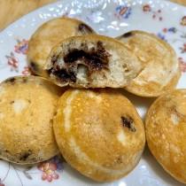 黑巧克力小圓鬆餅